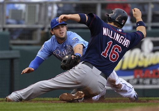 Mike Moustakas, Josh Willingham
