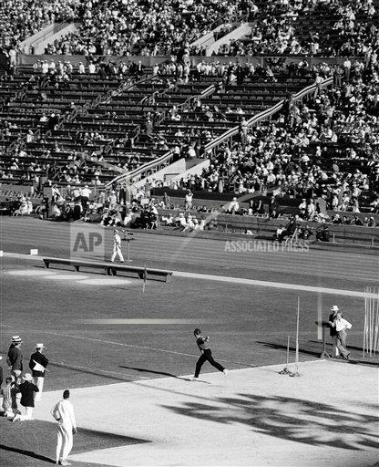 Watchf AP S OLY CA USA APHS453628 Los Angeles Olympics 1932
