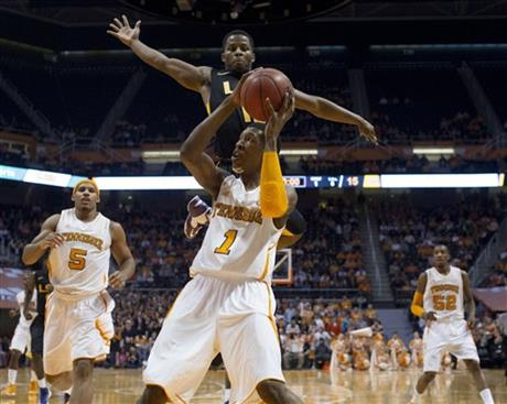 LSU Tennessee Basketball