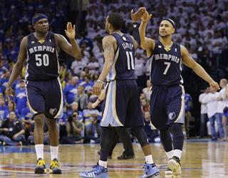 Zach Randolph, Mike Conley, Jerryd Bayless