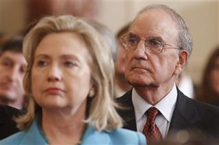 Hillary Clinton, George Mitchell