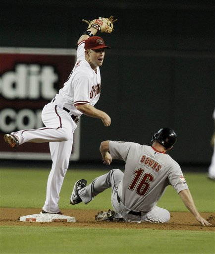 Aaron Hill, Matt Downs