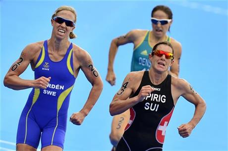 London Olympics Triathlon Women