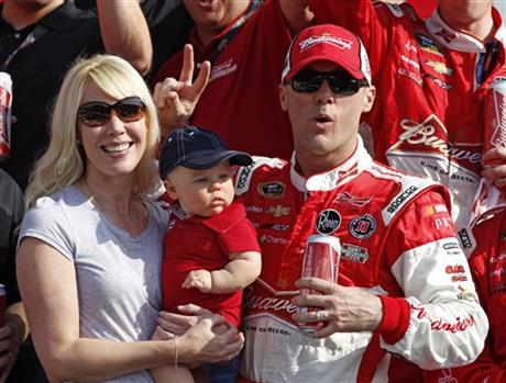 Kevin Harvick, Delena Harvick, Keelan Harvick