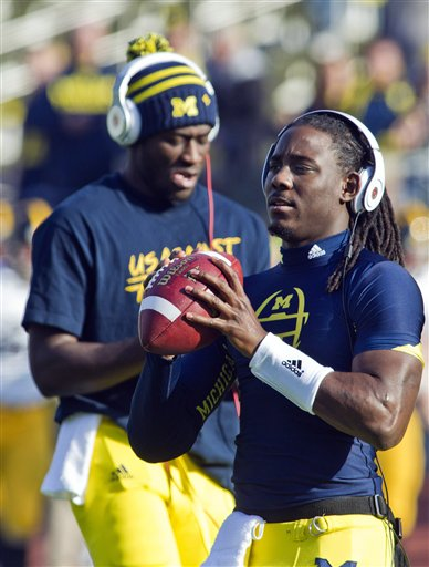 Denard Robinson, Devin Gardner