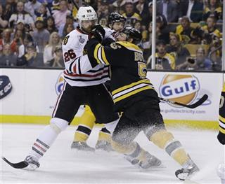 Michal Handzus , Johnny Boychuk