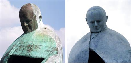 Italy Pope Sculpture