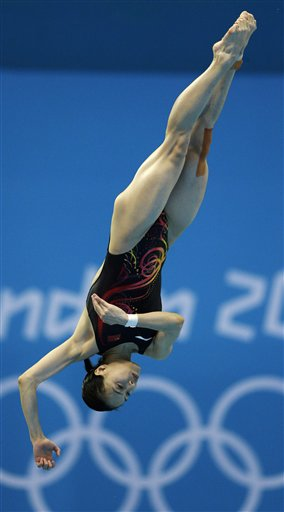 APTOPIX London Olympics Diving Women
