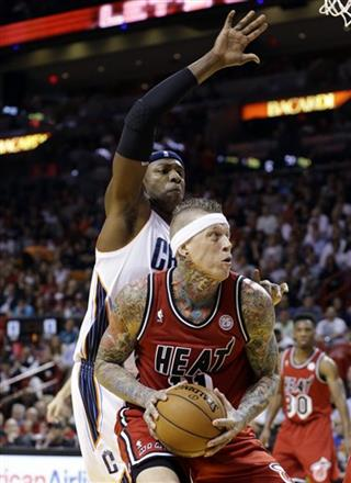 Brendan Haywood, Chris Andersen