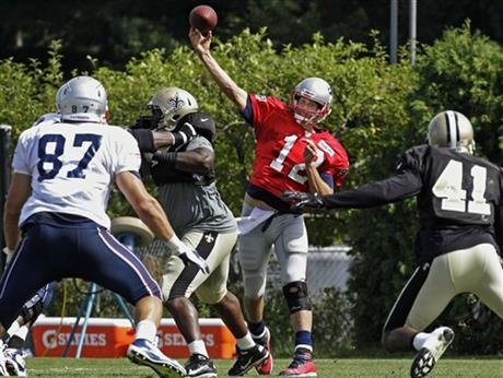 Tom Brady, Rob Gronkowski, Roman Harper