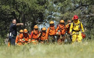 Inmate Fire Training