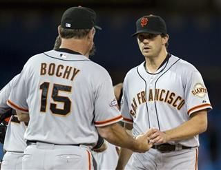 Barry Zito; Bruce Bochy