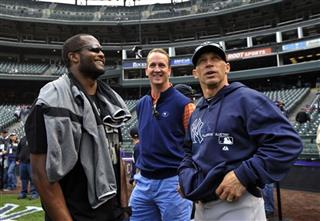 Joe Girardi, Peyton Manning, Champ Bailey