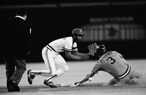Cardinals vs Braves NL Playoffs 1982