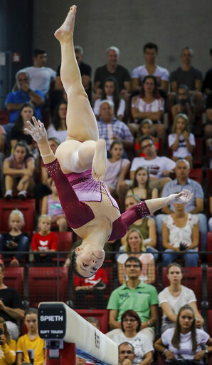 Gymnastics: 1st world championship qualification, women