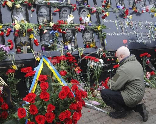 6th anniversary of the Euro Maidan revolution in Kiev, Ukraine - 20 Feb 2020
