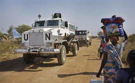 South Sudan UN Troops