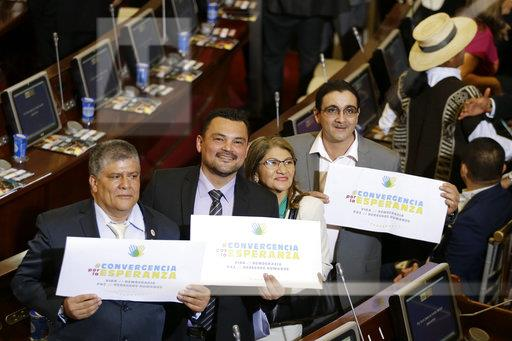 Colombia Rebel Lawmakers
