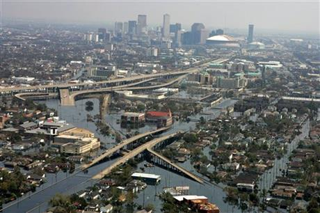 FLOODWATERS NEW ORLEANS