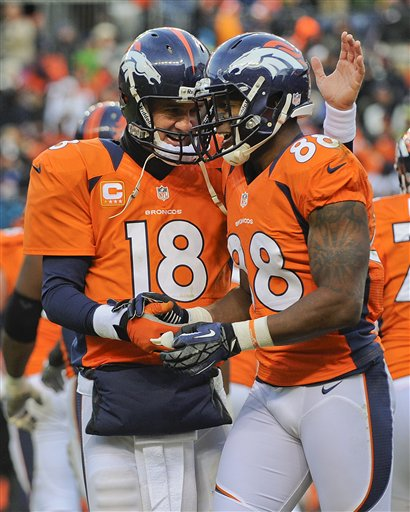 Peyton Manning, Demaryius Thomas
