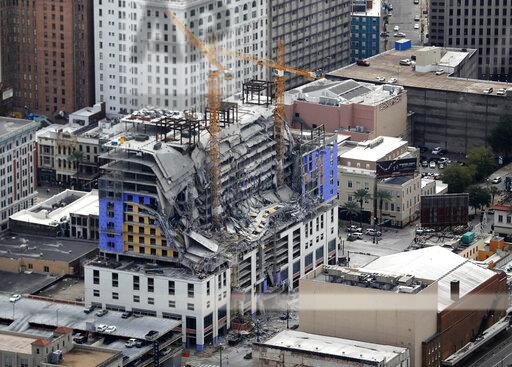 Hotel Collapse-New Orleans