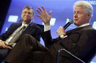 Bill Clinton, Bill Gates