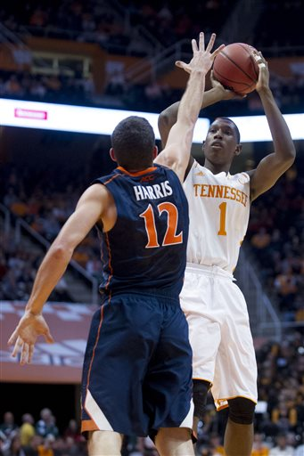 Virginia Tennessee Basketball