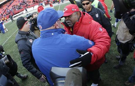 Romeo Crennel, Bruce Arians
