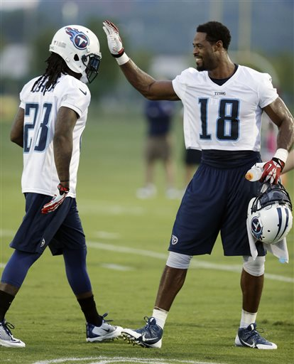 Kenny Britt, Chris Johnson
