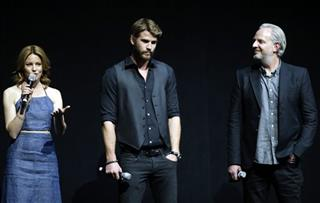 Elizabeth Banks; Liam Hemsworth; Francis Lawrence