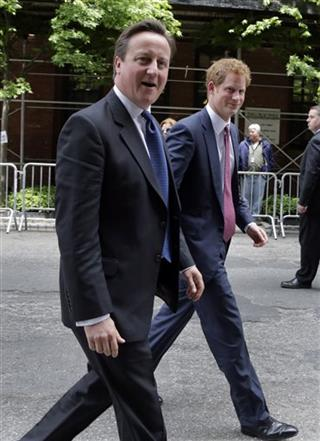 Prince Harry, David Cameron