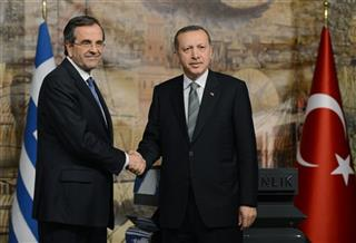 Antonis Samaras, Recep Tayyip Erdogan