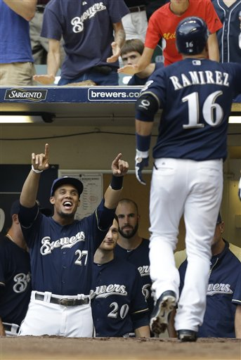 Carlos Gomez, Aramis Ramirez