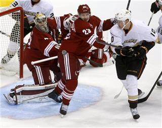 Mike Smith, Oliver Ekman-Larsson, Corey Perry