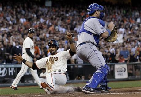 Angel Pagan, A.J. Ellis