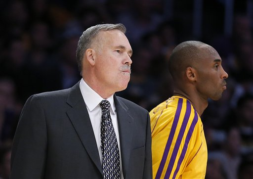 Mike D&#039;Antoni, Kobe Bryant