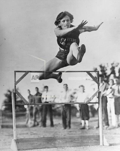 Associated Press Sports California United States Track and field BABE DIDRIKSON HURDLE
