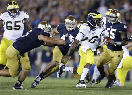 Manti Te&#039;o, Denard Robinson