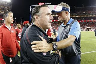 Jim Tomsula, Mike McCoy