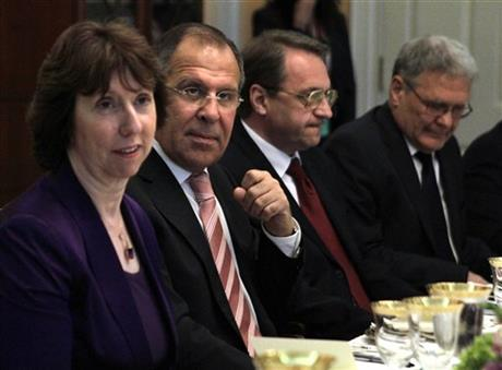 Sergei Lavrov, Catherine Ashton, Sergey Lavrov, Mikhail Bogdanov, Sergei Yakovlev