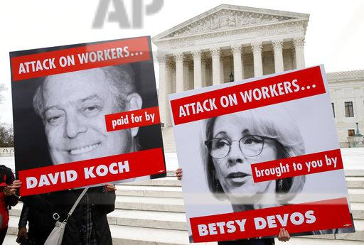 Koch Brothers-Donor Fight