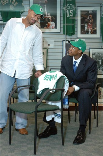 AP S MA USA BKN CELTICS DRAFT RONDO BASKETBALL