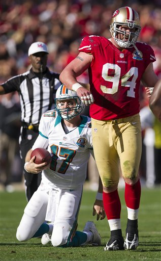 San Francisc 49ers vs Maimi Dolphins