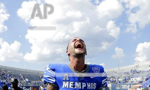 APTOPIX UCLA Memphis Football