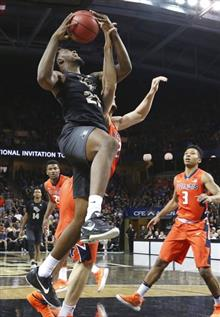 NIT Illinois Central Florida Basktball