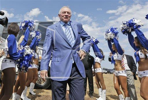 Cowboys New Home Football