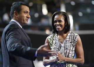 Michelle Obama, Kal Penn