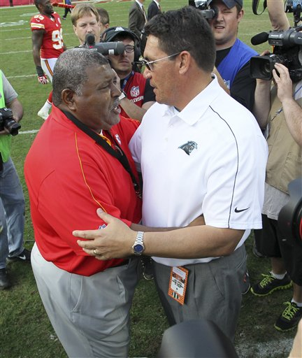 Romeo Crennel, Ron Rivera