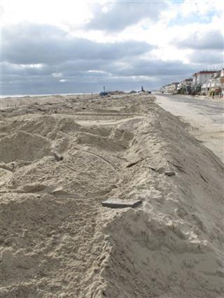 NJ Superstorm-Beach Erosion