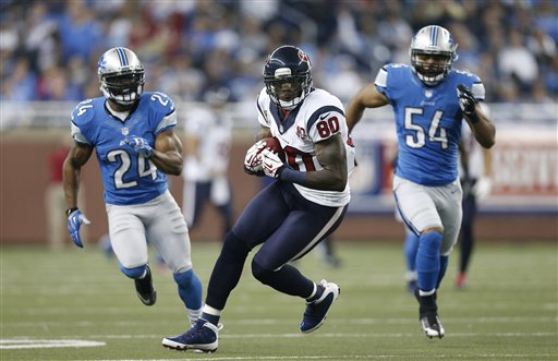 Andre Johnson, Erik Coleman, DeAndre Levy